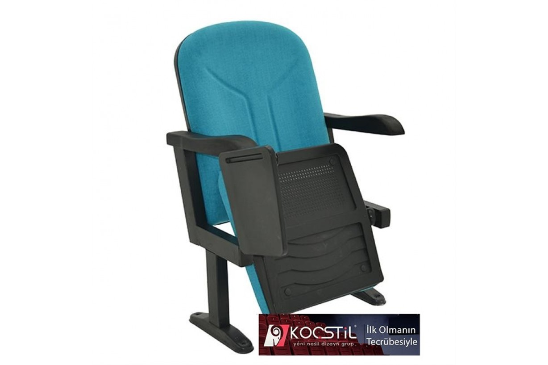rom açık kol yazı tablalı konferans koltuğu