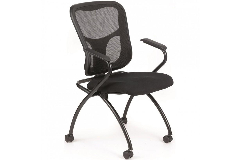 Dört Ayaklı Tekerlekli Konferans Sandalyesi