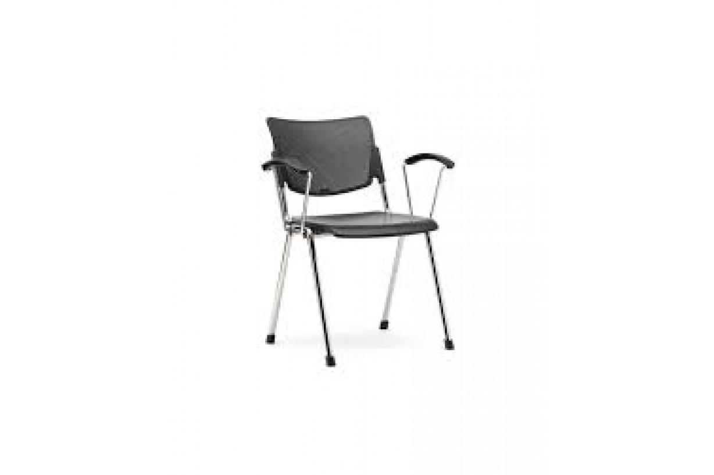 Üçgen Ayaklı Sırtı Fileli Konferans Sandalyesi
